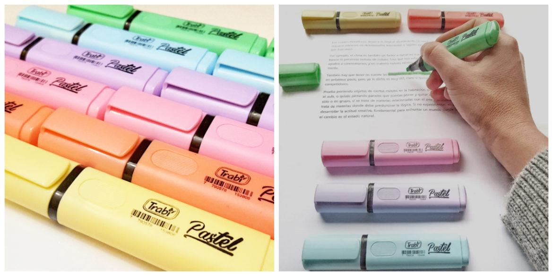 Sólo artículos de papelería 8 marcadores de Pastel permanente